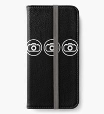 Camera icons white iPhone Wallet/Case/Skin