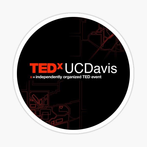 TEDxUCDavis Sticker