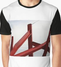 Red Metal Graphic T-Shirt