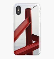 Red Metal iPhone Case/Skin