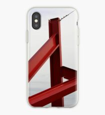 Red Metal iPhone Case