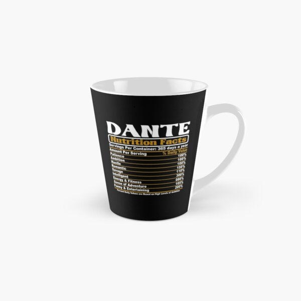 DANIELLA Coffee Mug Cup featuring the name in photos of PURPLE sign letters