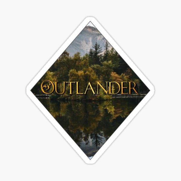 Outlander Books Sticker