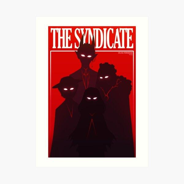 the syndicate Art Print