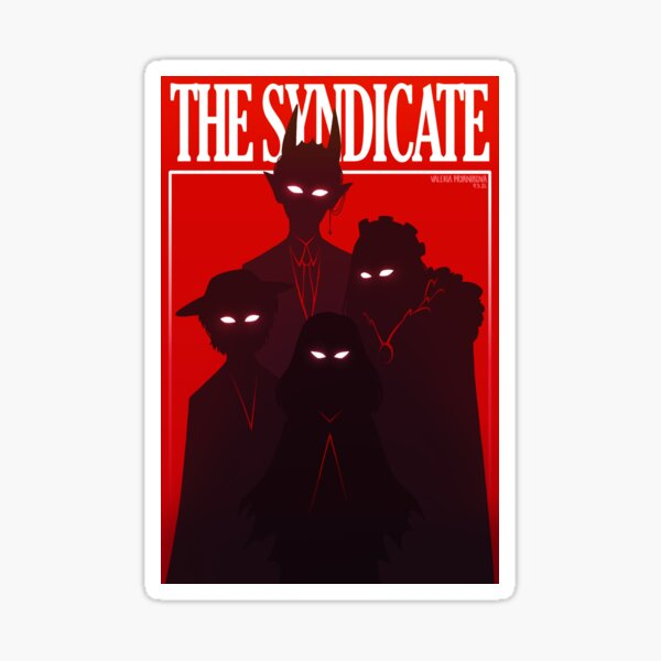 the syndicate Sticker