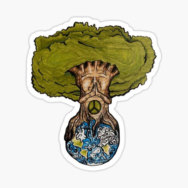 Envision Peace Sticker