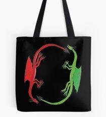 Dragon Circle Tote Bag