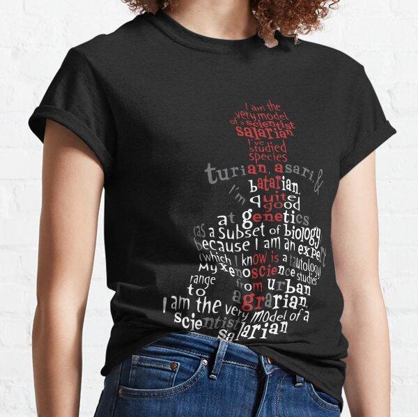 Scientist Salarian (no borders version) Classic T-Shirt