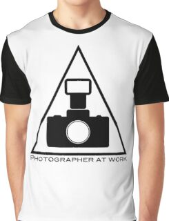 Photographer at work Graphic T-Shirt