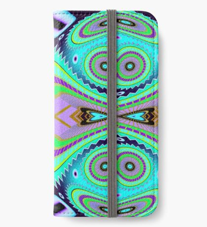Caterpillar Moth Boogaloo  iPhone Wallet