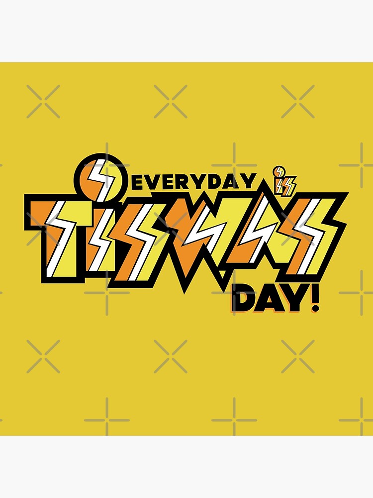 Everyday Is TISWAS Day Retro Inspired by Kuotee-Designs
