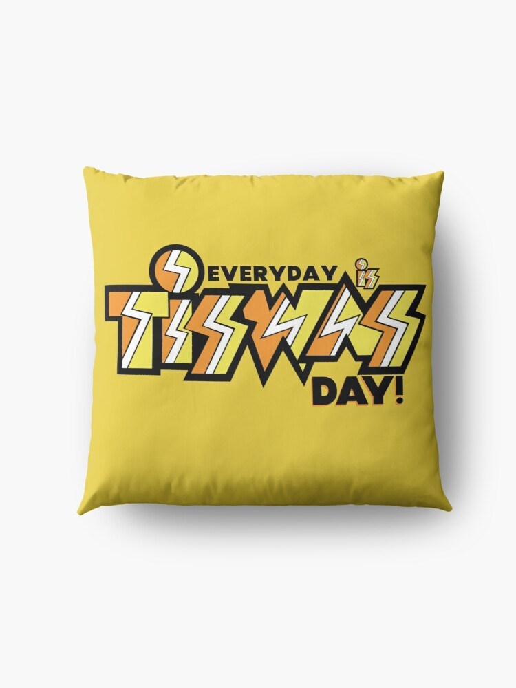 Alternate view of Everyday Is TISWAS Day Retro Inspired Floor Pillow