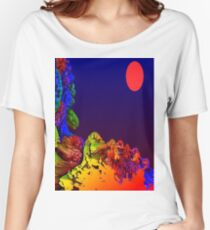 Alien Landscape Women's Relaxed Fit T-Shirt