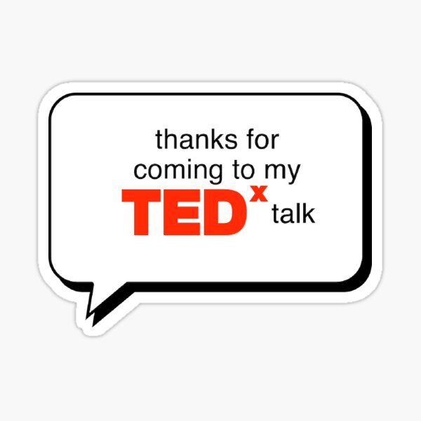 TEDxUCDavis 2021 Sticker