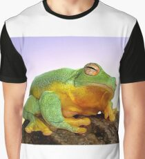 Sunrise Frog Graphic T-Shirt