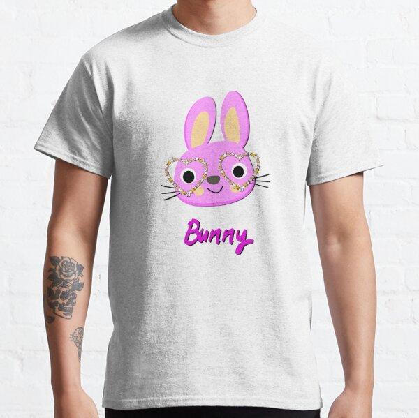 Bunny Flower Sunglasses Easter Kids T-Shirt