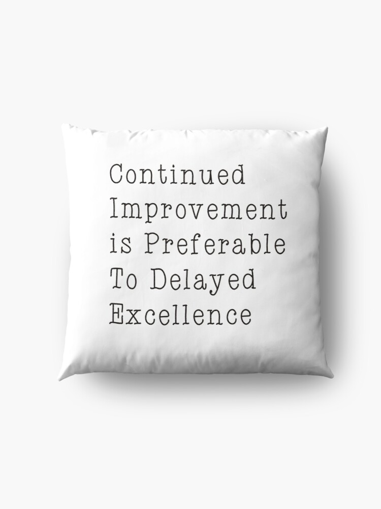 Alternate view of Motivational Quote  Floor Pillow