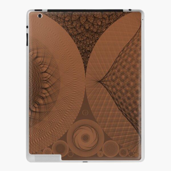 Contemporary Mandalas Track   Slow Down   Earthy Mars iPad Skin