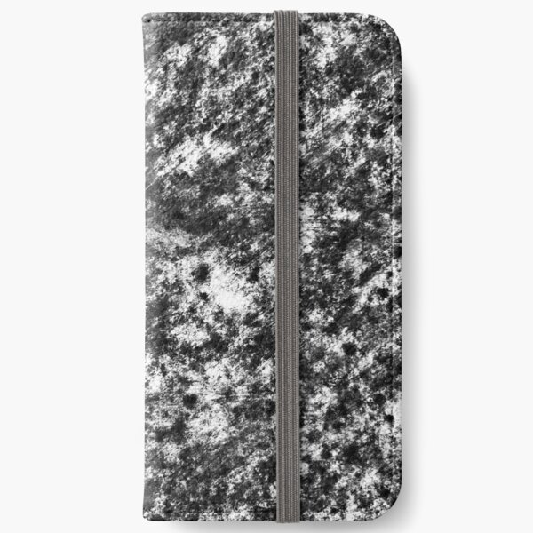 Charcoal Pattern 001 iPhone Wallet