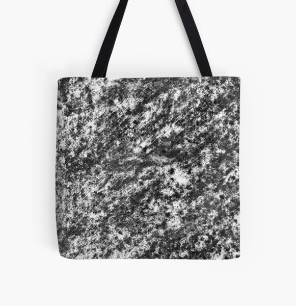 Charcoal Pattern 001 All Over Print Tote Bag