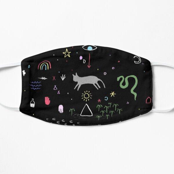 Chalkboard dreamscape Flat Mask
