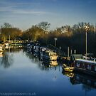 River Nene, Ringstead  by bywhacky
