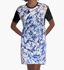 CROSS-SECTION OF LIGHT Graphic T-Shirt Dress