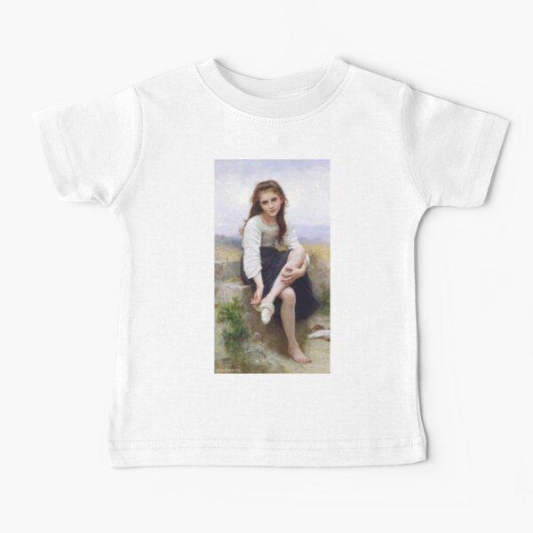 Avant le Bain (Before the Bath) Baby T-Shirt