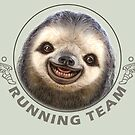 SLOTH RUNNING TEAM by MEDIACORPSE