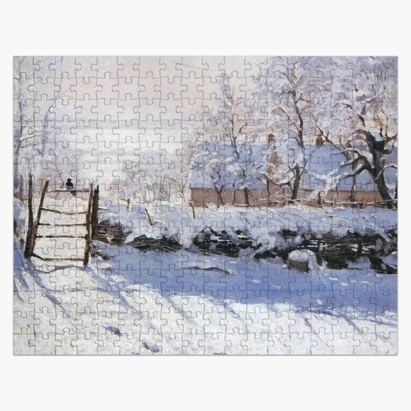 Claude Monet - French painter Jigsaw Puzzle
