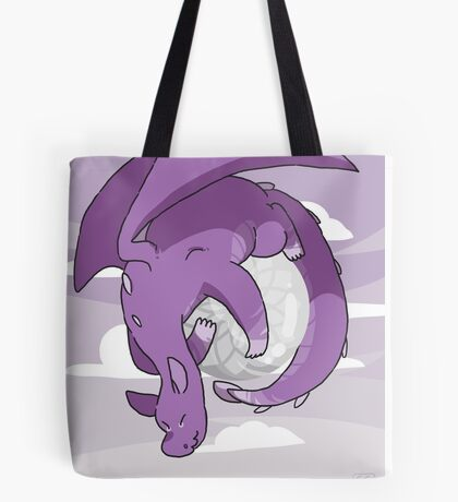 Clear Quartz Dragon  Tote Bag