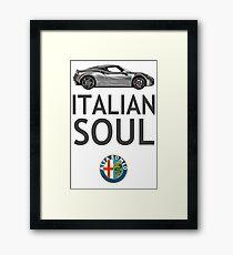 Italian Soul (minus ARoB logo) Framed Print