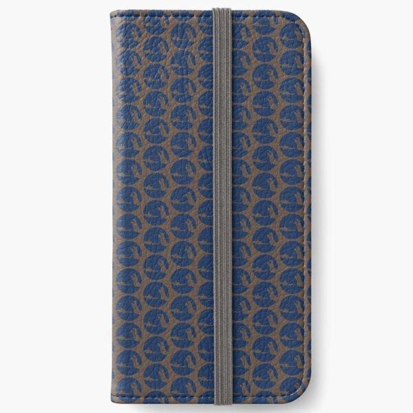 NVINY Logo Blue iPhone Wallet