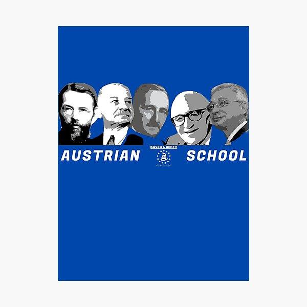 Austrian Economists Photographic Print