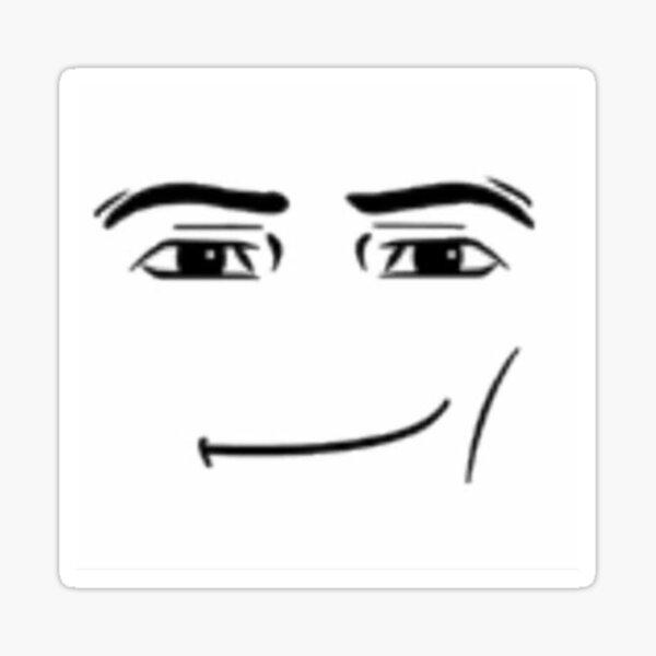 roblox man face ;) Sticker