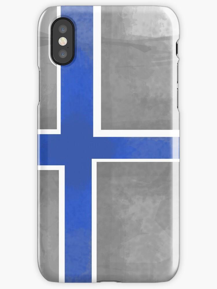 Finland Beer Flag by Herbert Shin