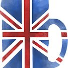 UK Beer Flag by Herbert Shin