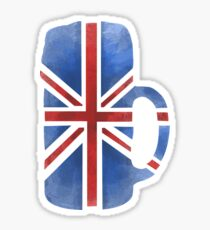 UK Beer Flag Sticker