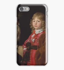 Wallerant Vaillant (Flemish, Lille  Amsterdam), Portrait of a Boy with a Falcon iPhone Case/Skin