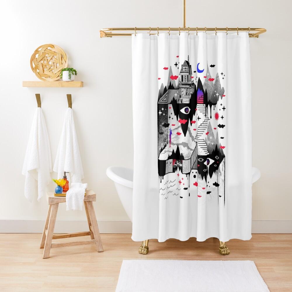 Abysm Shower Curtain