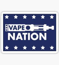 Vape Nation - Vote or Die Sticker