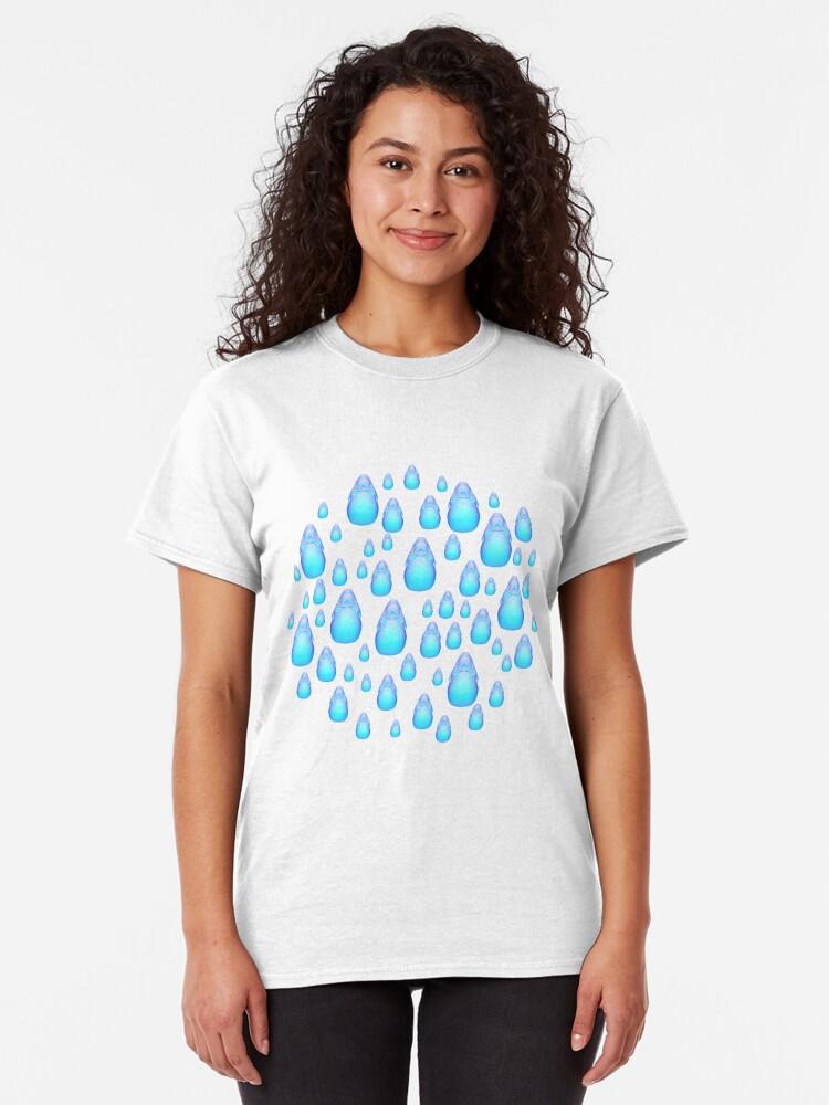 Alternate view of Rain drops company 3 Classic T-Shirt