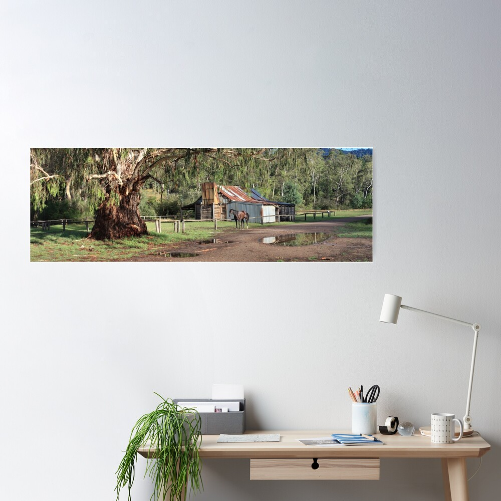 Frys Hut, Howqua Hills, Australia Poster