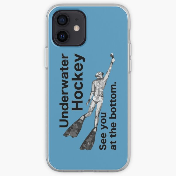 Underwater Hockey. See you at the bottom. iPhone Soft Case