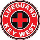 LIFEGUARD SURF PATROL  KEY WEST FLORIDA Surf Surfer Surfboard Waves Ocean Beach Vacation by MyHandmadeSigns