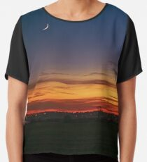 New Moon at Sunset Chiffon Top