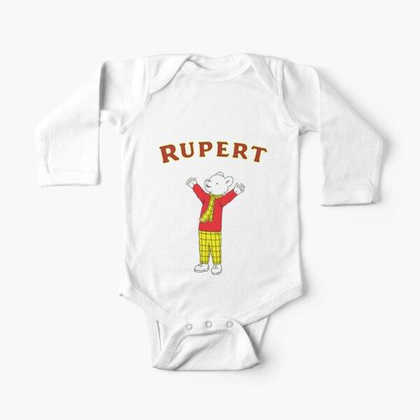 Rupert the bear Long Sleeve Baby One-Piece