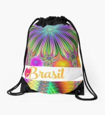 Fractory: Gott segne brasilianische Tage - hallo Rio - Liebe Brasilien Rucksackbeutel