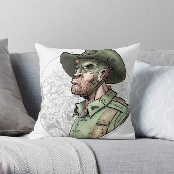 The Soldier Legacy #1 Throw Pillow