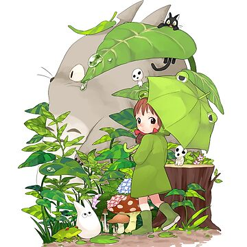 Totoro and friends by Downyart